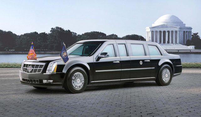 2009 Cadillac Presidential Limousine - front