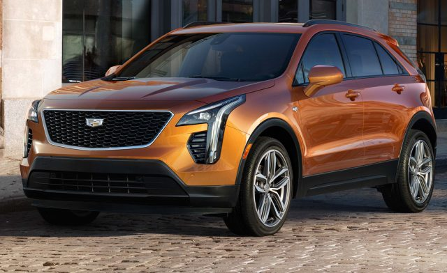 2019 Cadillac XT4 - front, bronze/gold, New York