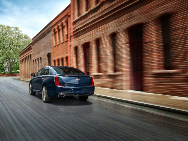 2018 Cadillac XTS Platinum facelift
