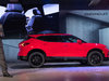 2019 Chevrolet Blazer RS - side, on stage