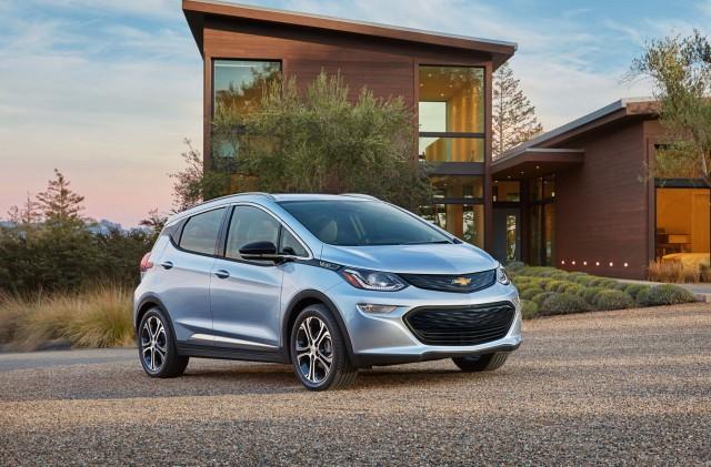 2017 Chevrolet Bolt EV - front
