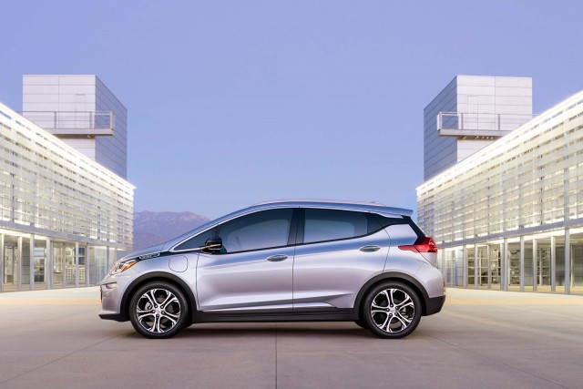2017 Chevrolet Bolt EV - side