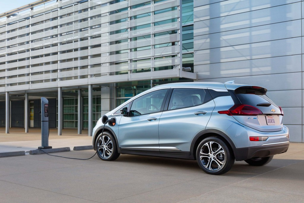 2017 Chevrolet Bolt EV - rear, charging