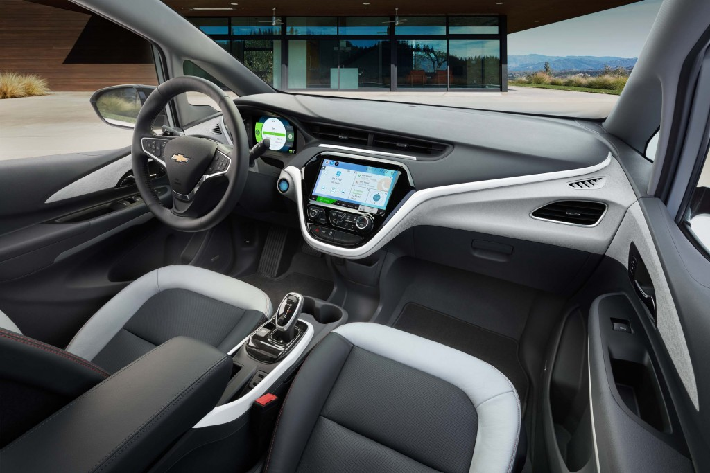 2017 Chevrolet Bolt EV - interior, dashboard, front seats