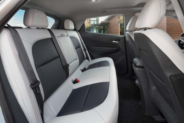 2017 Chevrolet Bolt EV - rear seats