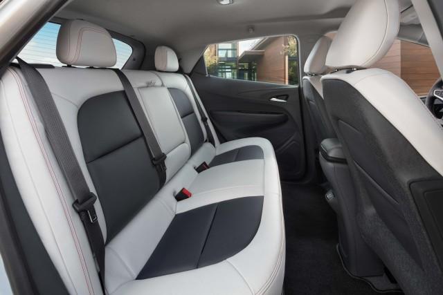 2017 Chevrolet Bolt EV - rear seats