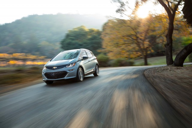 2017 Chevrolet Bolt EV - driving