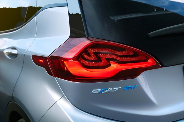 2017 Chevrolet Bolt EV - taillights