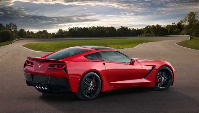 2014 Chevrolet Corvette Stingray - rear