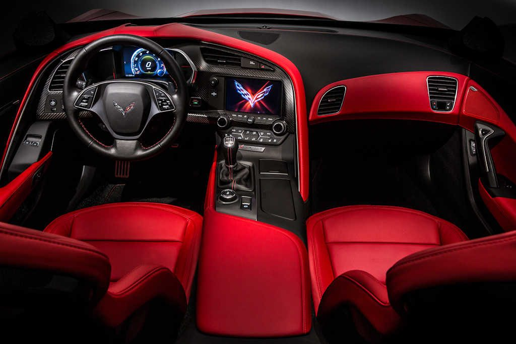 2014 Chevrolet Corvette Stingray - interior, dashboard