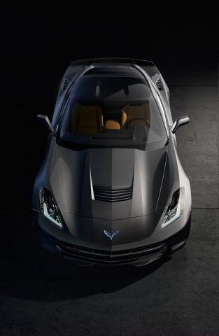 2014 Chevrolet Corvette Stingray - hood