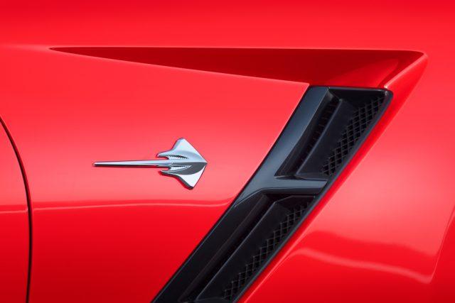 2014 Chevrolet Corvette Stingray - side vent