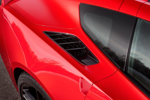 2014 Chevrolet Corvette Stingray - rear vent