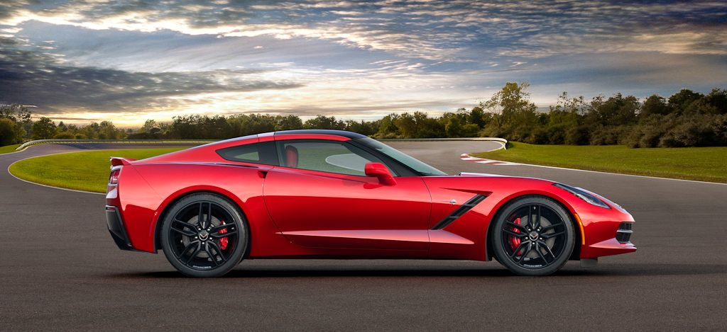 2014 Chevrolet Corvette Stingray - side
