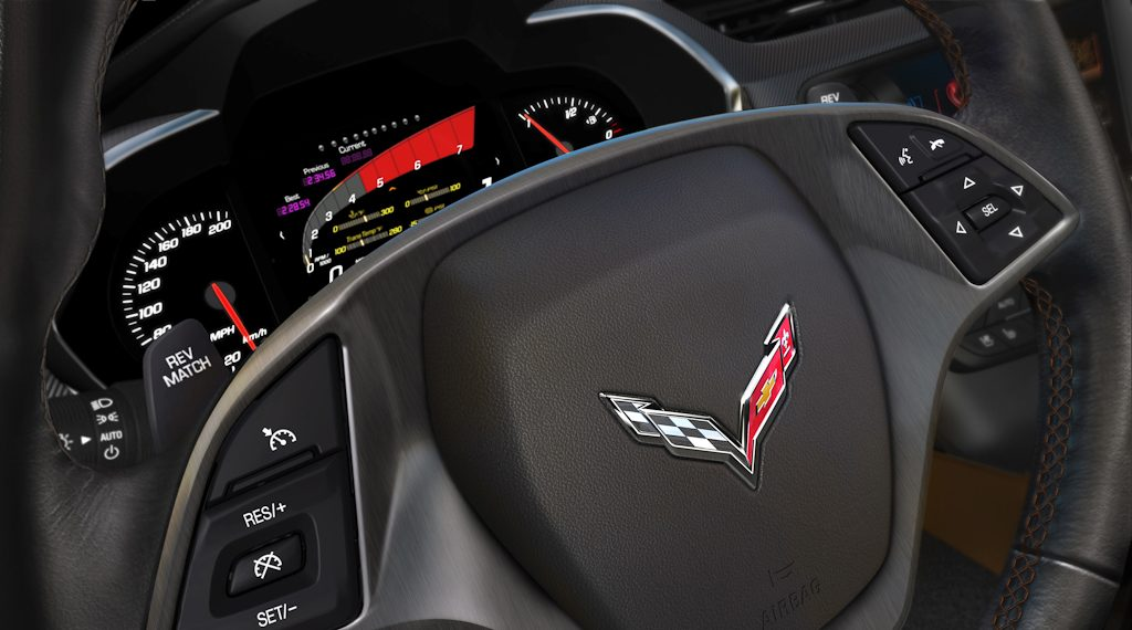 2014 Chevrolet Corvette Stingray - steering wheel