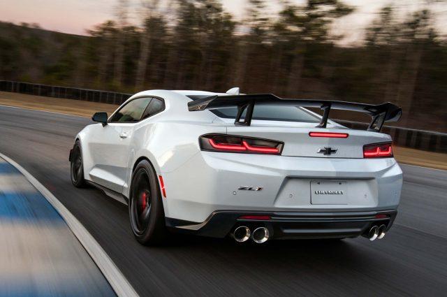 2018 Chevrolet Camaro ZL1 1LE - rear, race track