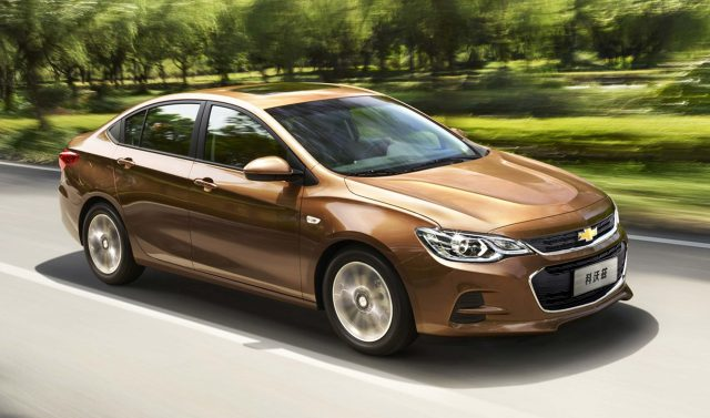 2018 Chevrolet Cavalier returns to Mexico as a rebodied ...