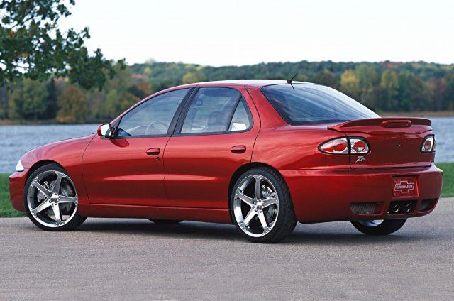 Chevrolet Cavalier Z24 sedan (2005 SEMA Show, third ...