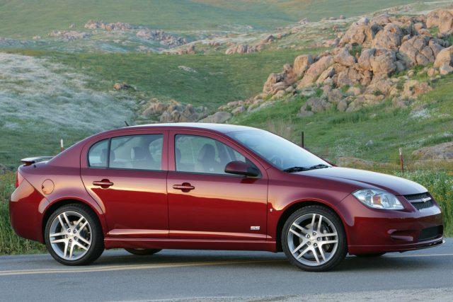 2009 Chevrolet Cobalt Ss Sedan Front Red