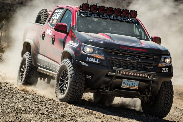 2018 Chevrolet Colorado ZR2 by Hall Racing - front, dirt, racing