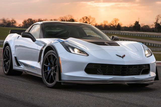 Chevrolet Corvette Carbon 65 Edition - front, white