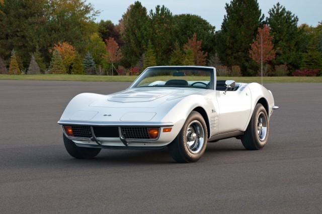 1972 Chevrolet Corvette Stingray Coupe - white, front