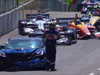 Mark Reuss crashes Corvette pace car at 2018 IndyCar Detroit Grand Prix
