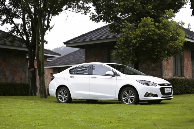 Second generation Chevrolet Cruze