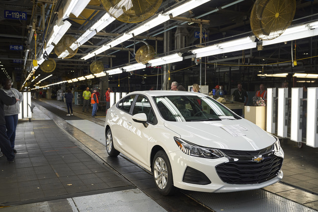 Final Chevrolet Cruze made in Lordstown, Ohio