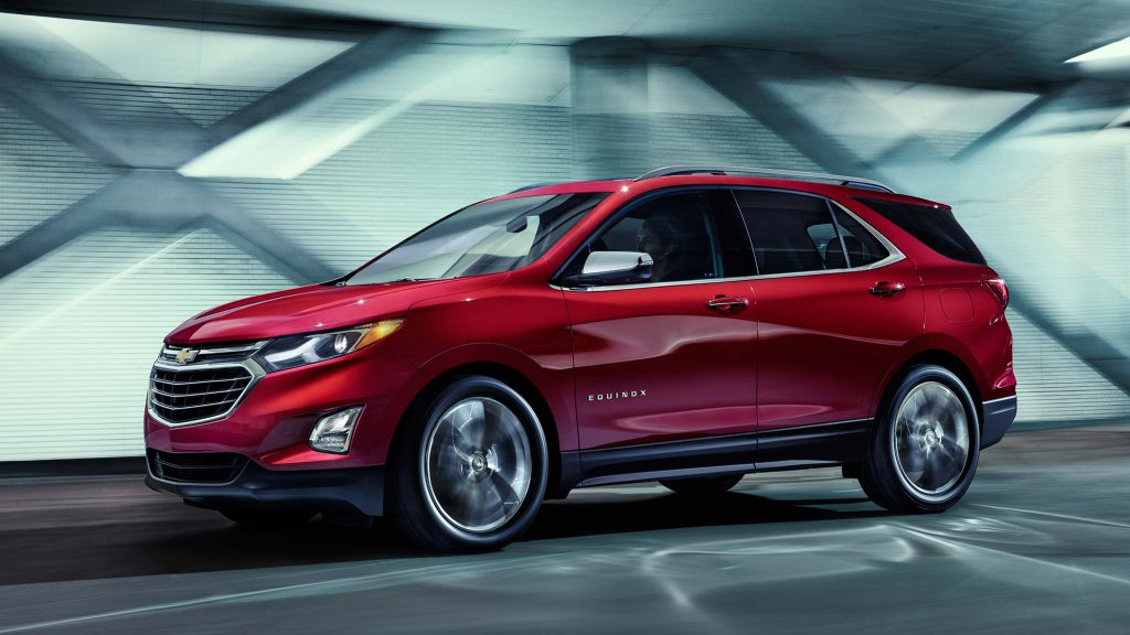 2018 Chevrolet Equinox - front, red