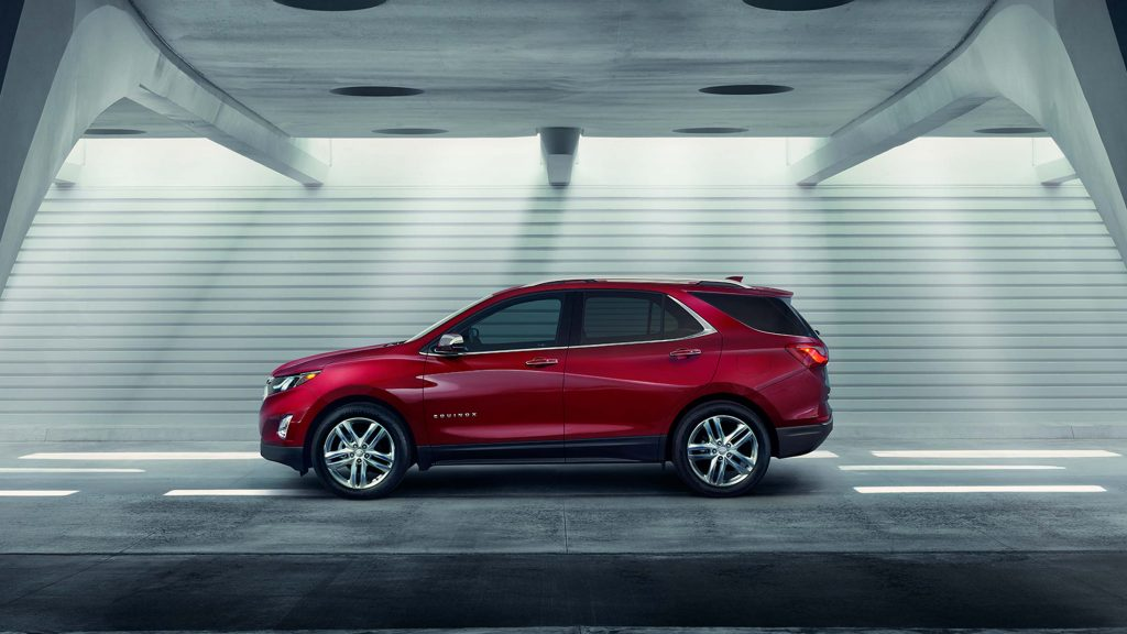 2018 Chevrolet Equinox - side