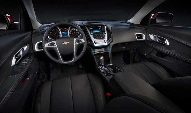MY2016 Chevrolet Equinox LTZ Interior