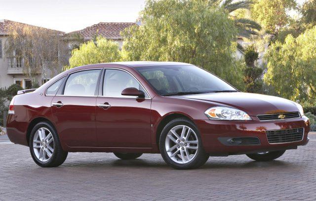 2009 Chevrolet Impala LTZ - front, red