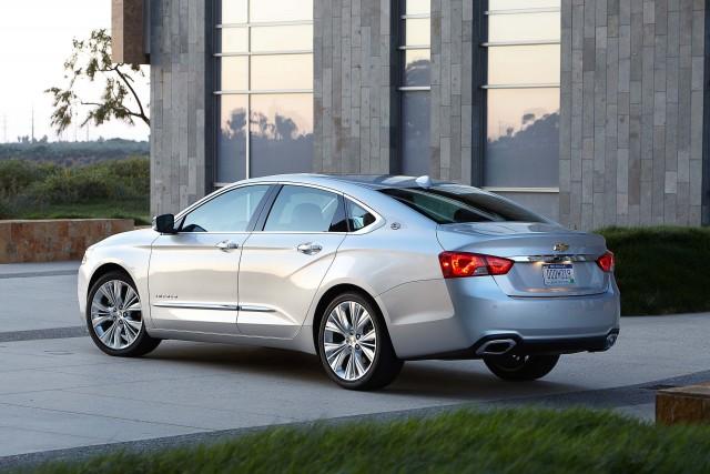 2016 Chevrolet Impala LTZ - rear, silver