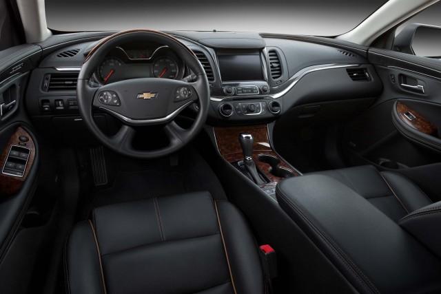 2016 Chevrolet Impala LTZ - interior