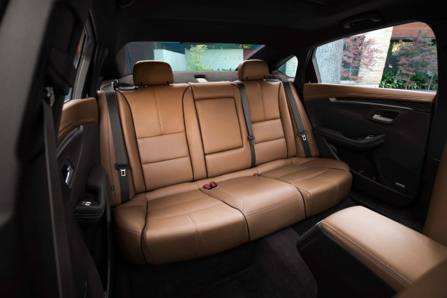 2016 Chevrolet Impala - rear seats, leather, tan