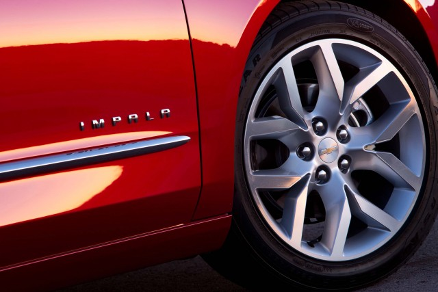 2016 Chevrolet Impala LTZ - alloy wheels