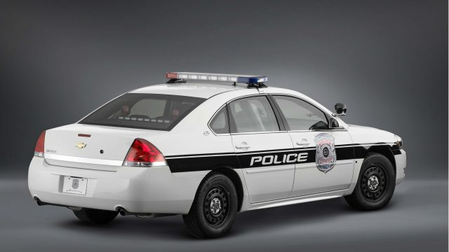 2009 Chevrolet Impala Police Vehicle - rear