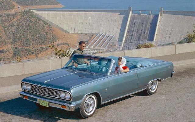 1964 Chevrolet Chevelle Malibu SS convertible - first generation