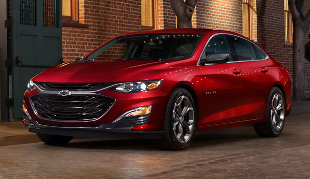 2019 Chevrolet Malibu RS facelift - front, red