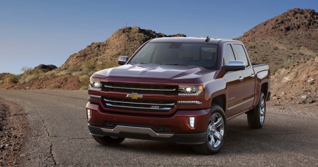 Chevrolet Silverado 1500 LTZ Z71 - 2016 model year update