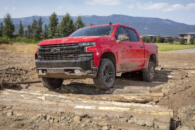2019 Chevrolet Silverado LT Trail Boss