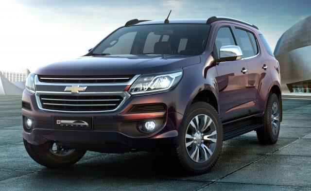 2017 Chevrolet Trailblazer Facelift New Much Improved Nose