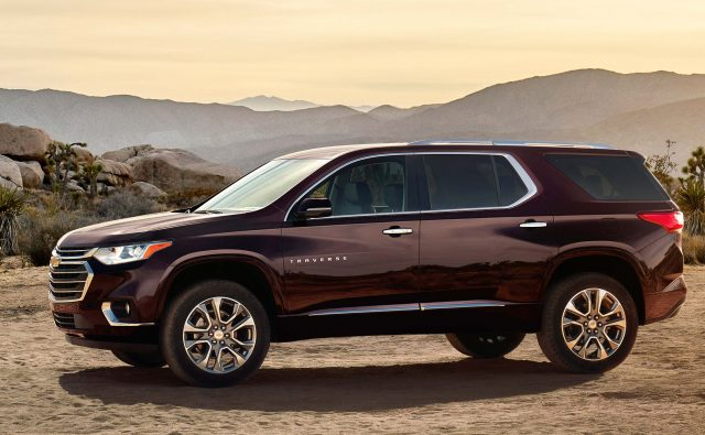 2018 Chevrolet Traverse - side