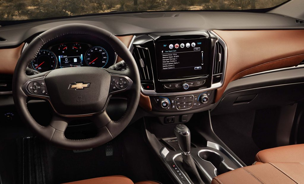 2018 Chevrolet Traverse - dashboard