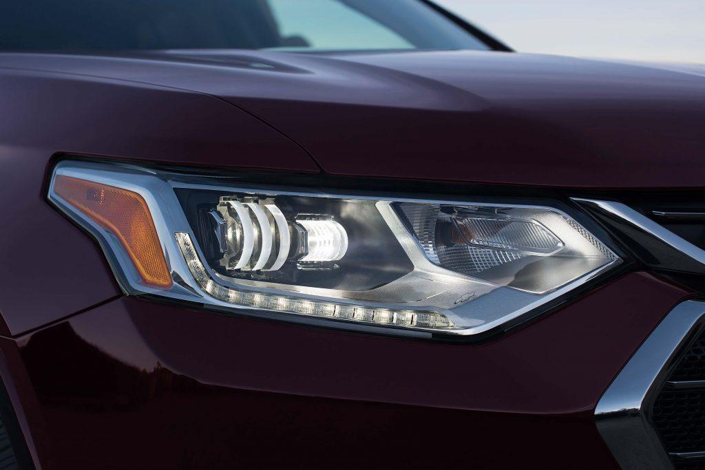 2018 Chevrolet Traverse - headlamps