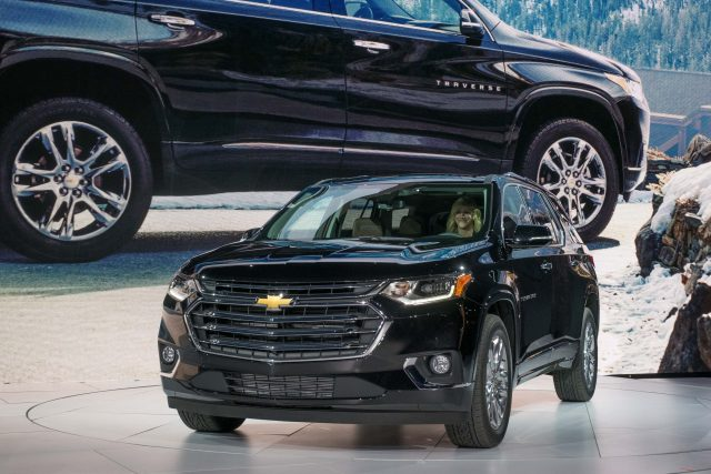 2018 Chevrolet Traverse - on stage at 2017 Detroit Motor Show