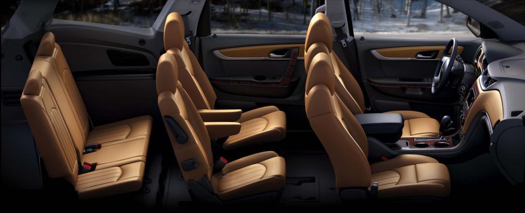 2015 Chevrolet Traverse LTZ - seats