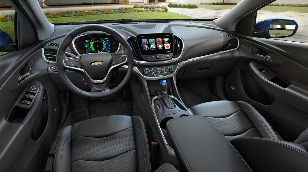 Chevrolet volt (second generation) - interior