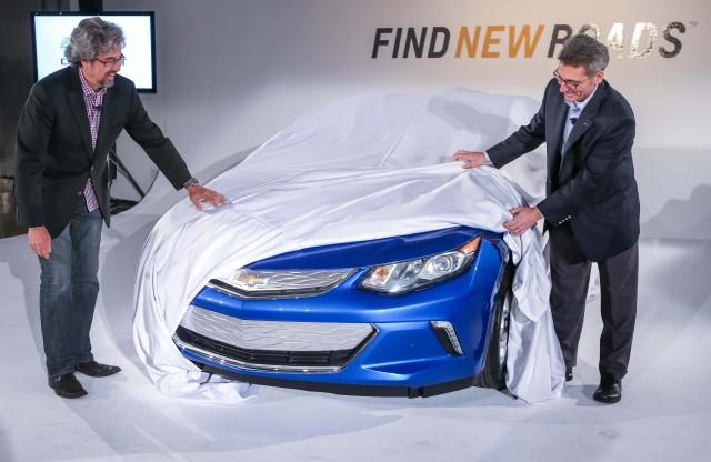 Chevrolet Volt front end teaser